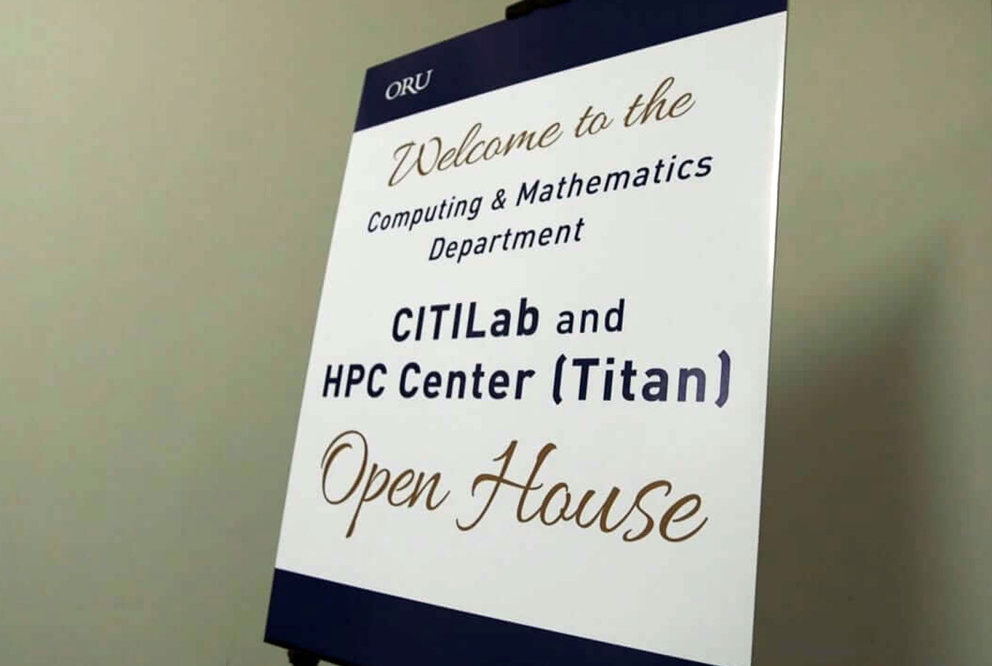 Titan Super Computer Ribbon Cutting