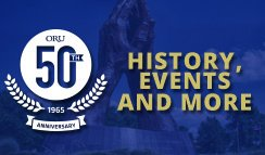 ORU 50th Anniversary Website