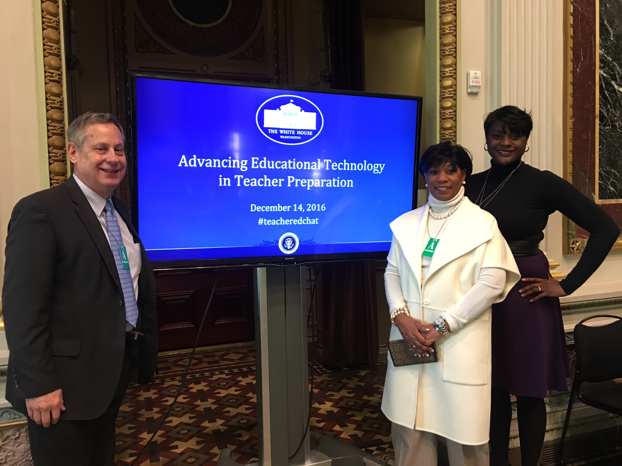 Dr Boyd at White House