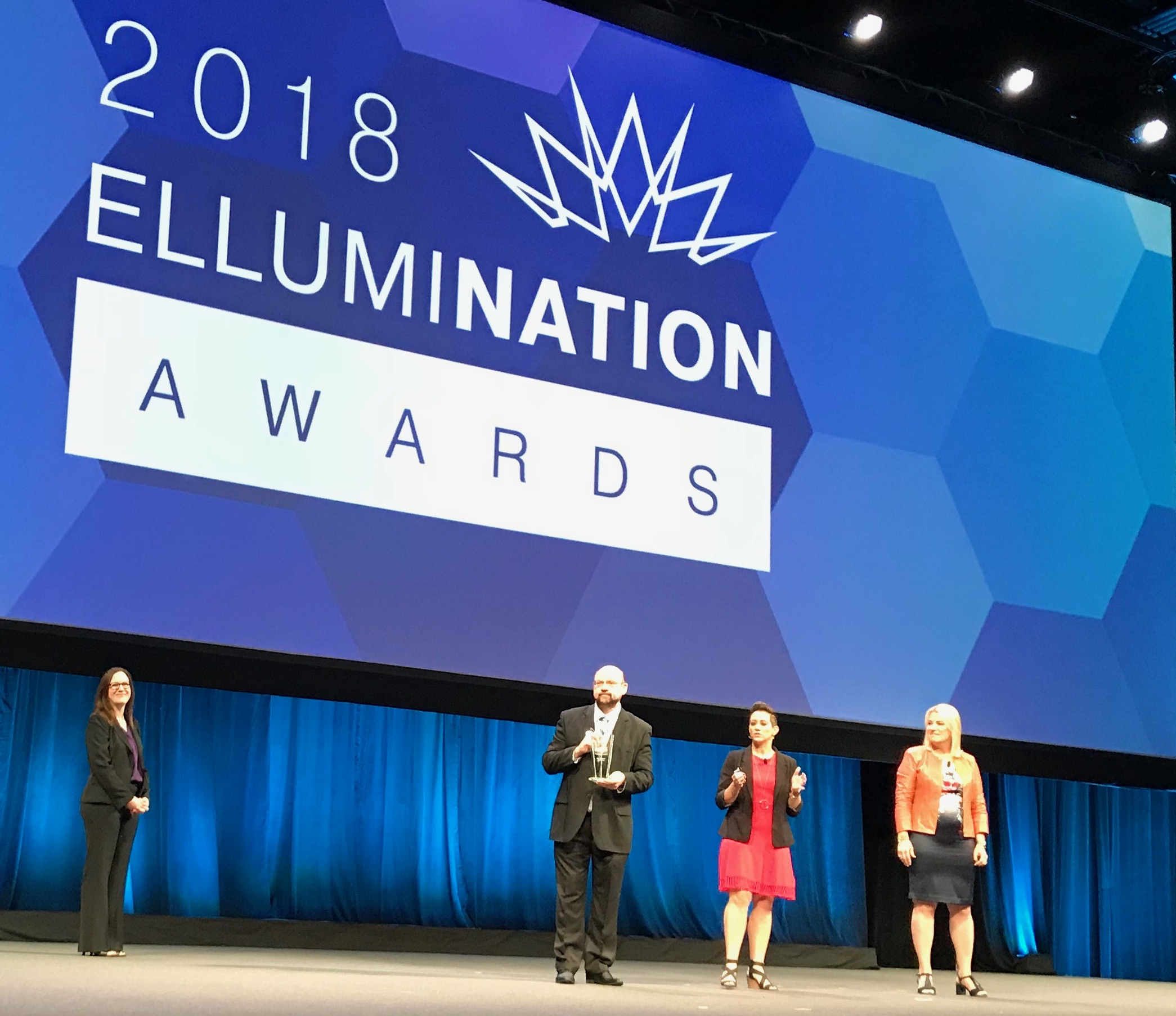 Michael Mathews Receives EllumiNation Award