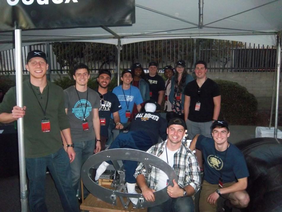 Hyperloop Team in California