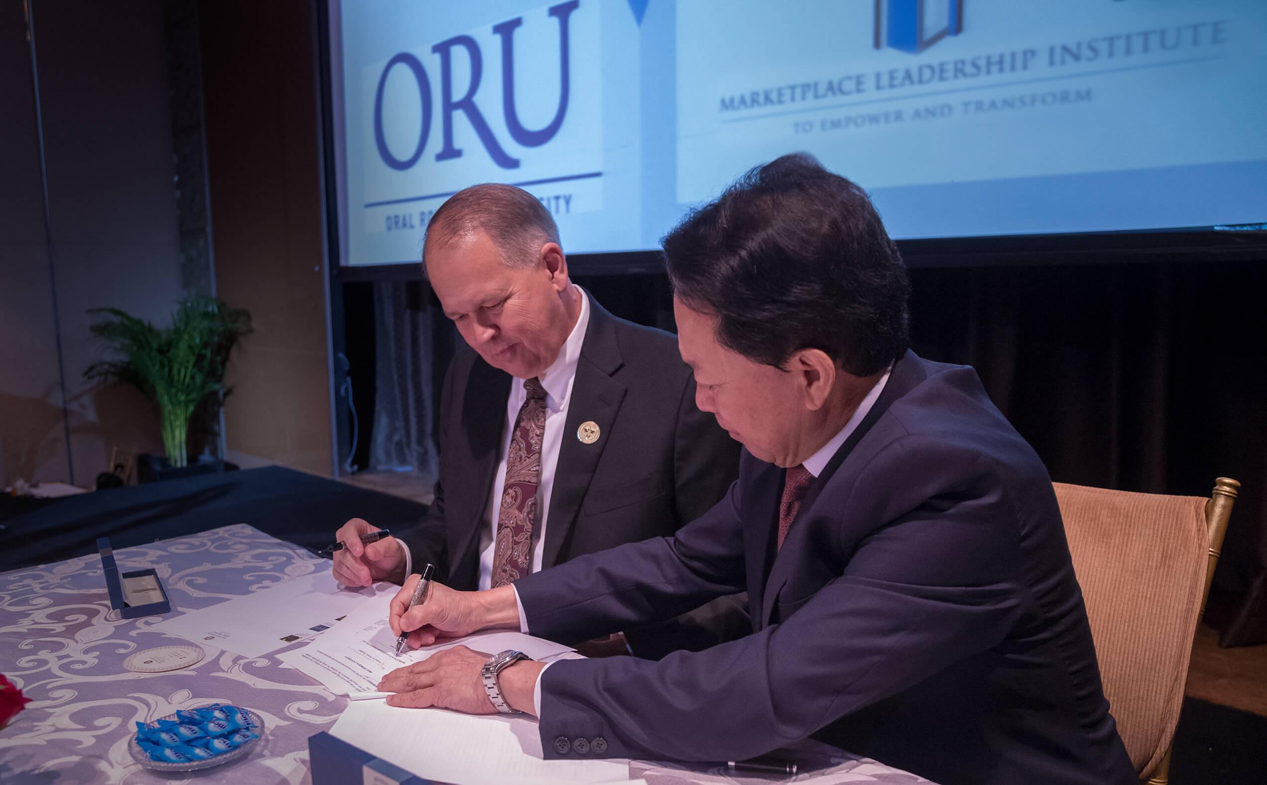 ORU MLI Sign Agreement