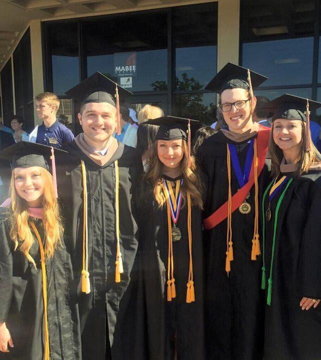 Rebecca Dow Graduates