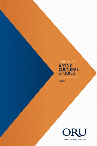 2015 College of Arts and Cultural Studies - Music Brochure