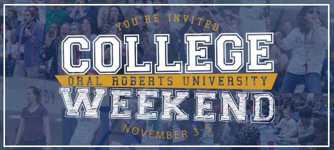 College Weekend November 3-5, 2016