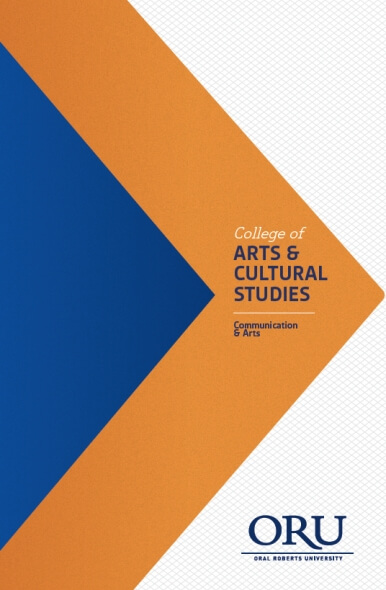 College of Arts and Cultural Studies - Communication Arts Brochure