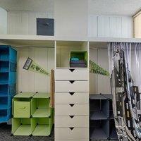 closet and dressers