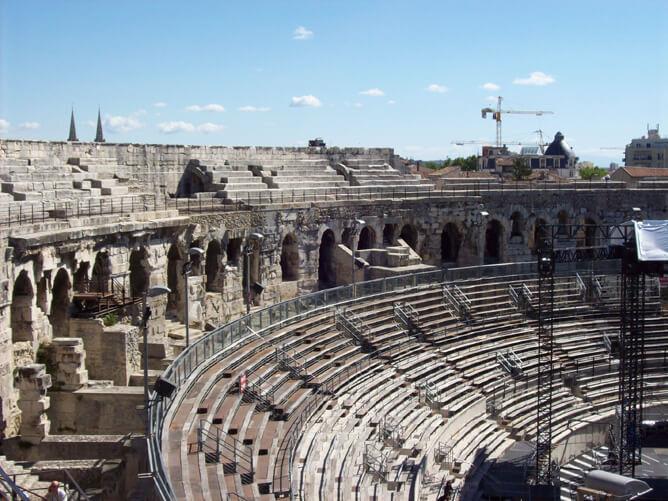 Roman Stadium in Arles, France