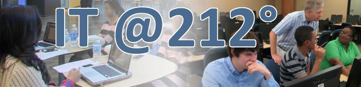 IT @212° banner