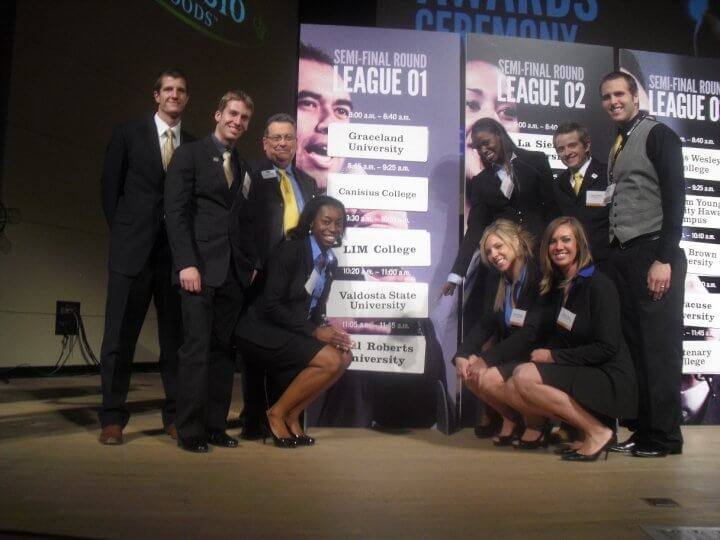 ORU Students and Faculty at the 2010 SIFE National Competition
