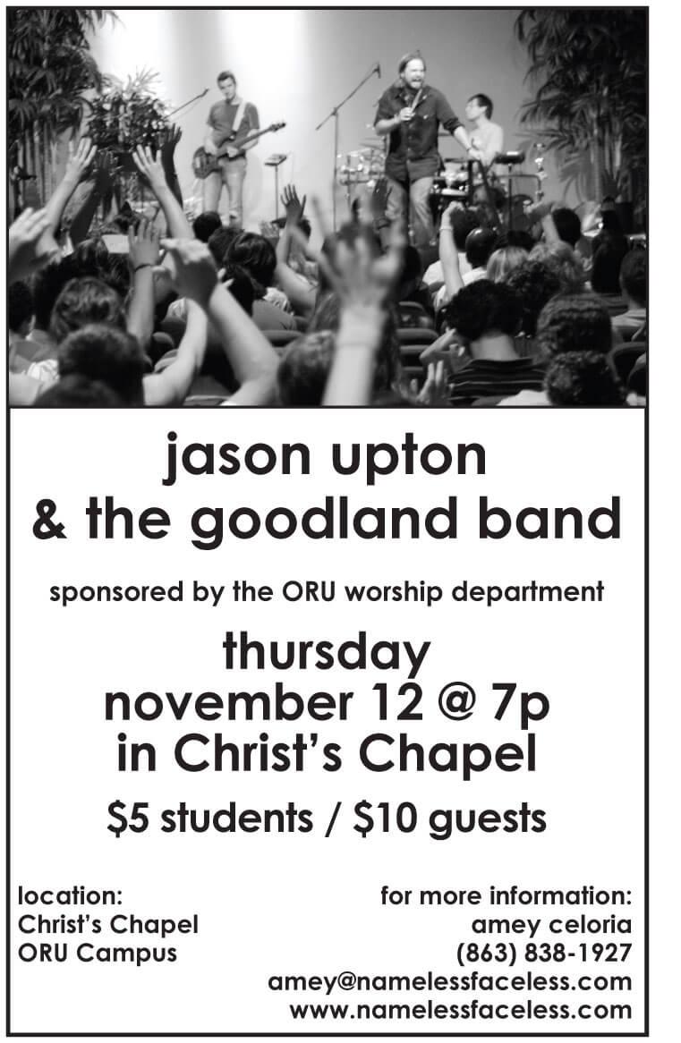 Jason Upton poster